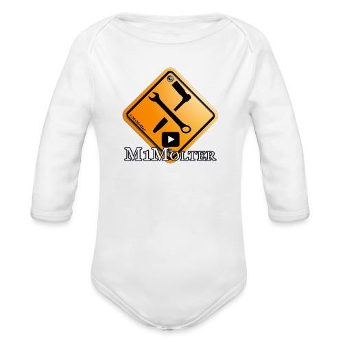 M1Molter - Baby Bio-Langarm-Body
