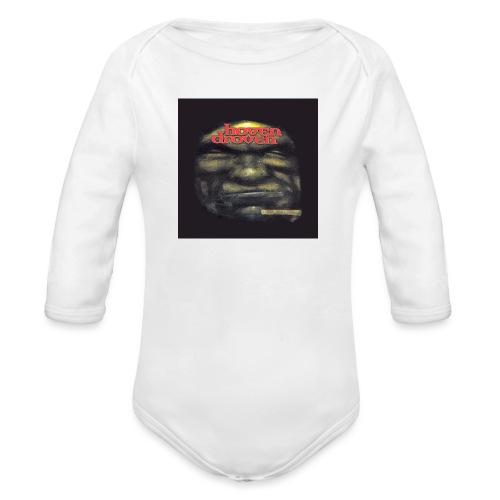Hoven Grov knapp - Organic Longsleeve Baby Bodysuit