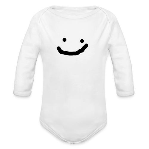 SPECIAL FACE! - Organic Longsleeve Baby Bodysuit