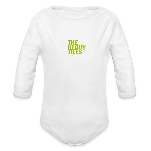 the heavy tiles green collection - Body ecologico per neonato a manica lunga
