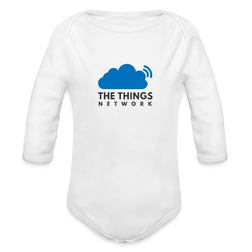 The Things Network - Baby bio-rompertje met lange mouwen
