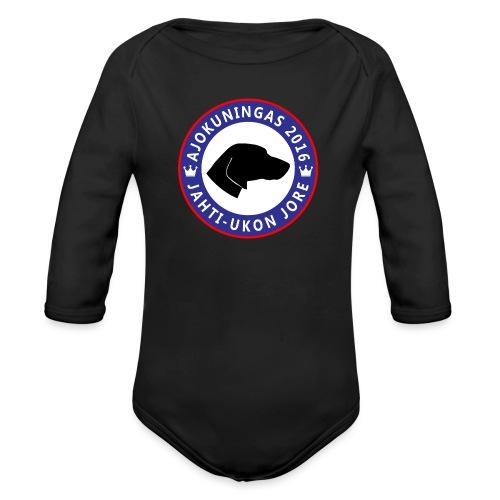 Ajokuningas t-paita - Vauvan pitkähihainen luomu-body