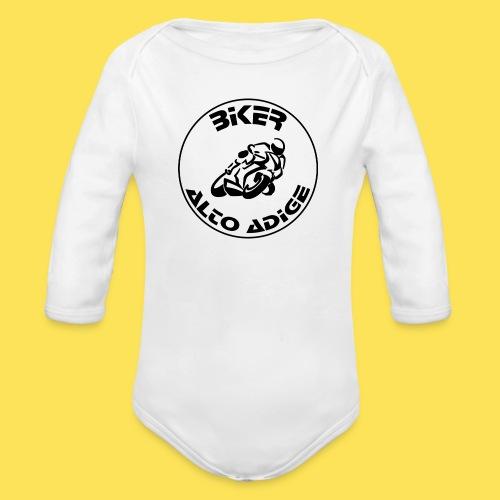 Biker Alto Adige - Body ecologico per neonato a manica lunga