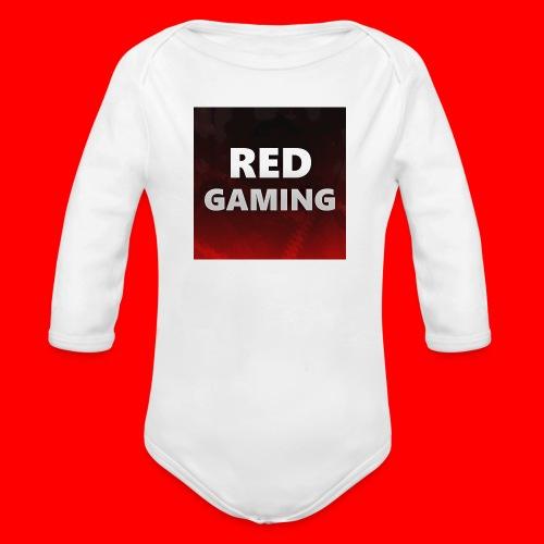 RED DESIGN - Organic Longsleeve Baby Bodysuit