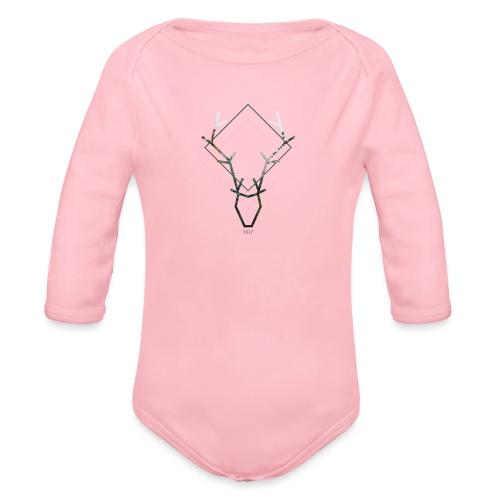 DEER - Body ecologico per neonato a manica lunga