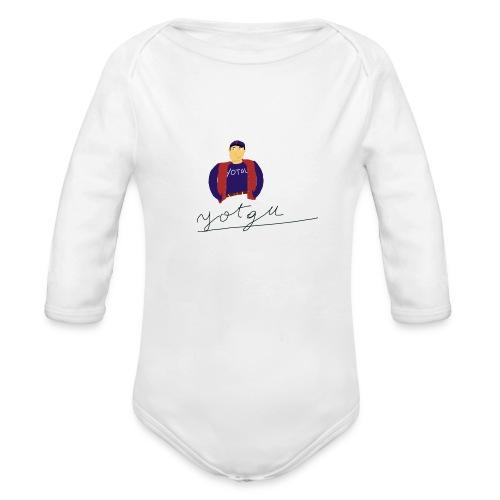 yotgu - Body Bébé bio manches longues