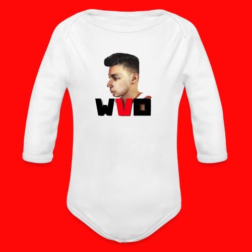 WVO OFFICIAL - Organic Longsleeve Baby Bodysuit