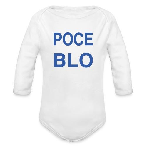 Tee shirt POCE BLO - Body Bébé bio manches longues