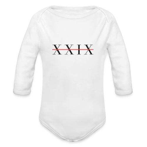 XIXX - Organic Longsleeve Baby Bodysuit