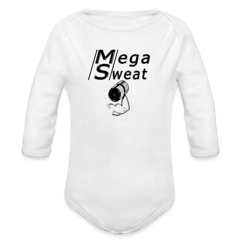 camisetas deportivas - Body orgánico de manga larga para bebé