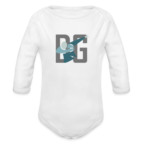 Original Dabsta Gangstas design - Organic Longsleeve Baby Bodysuit