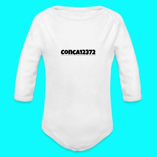 Conca12372 - Organic Longsleeve Baby Bodysuit