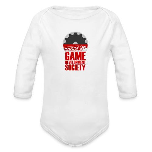 Game Development Society Cap - Organic Longsleeve Baby Bodysuit