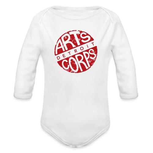 Art Corps Detroit - Body Bébé bio manches longues