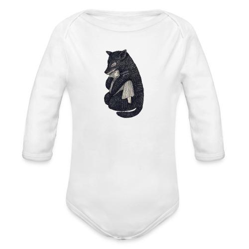 Cuddle 🐼 - Organic Longsleeve Baby Bodysuit
