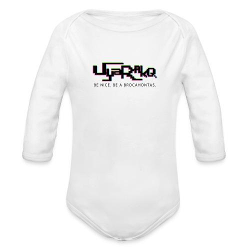 Brocahontas - Organic Longsleeve Baby Bodysuit