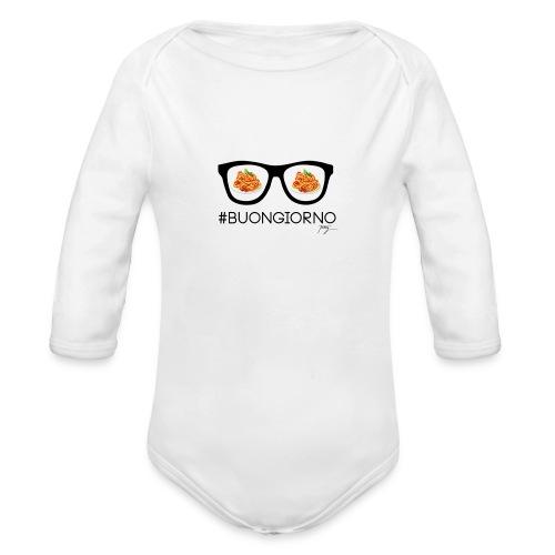#Buongiorno - Baby Bio-Langarm-Body