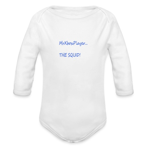 MrXboxPlayer The SQUID - Organic Longsleeve Baby Bodysuit