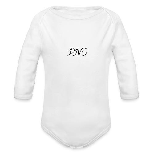 PNO(PlayerNrOne) shirts hoodies und so weiter - Baby Bio-Langarm-Body