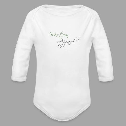 Western Sportswear Jacket - Organic Longsleeve Baby Bodysuit