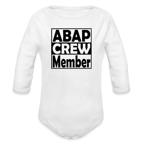 ABAPcrew - Baby Bio-Langarm-Body