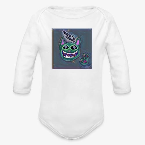 CAT´S UP? - Body orgánico de manga larga para bebé