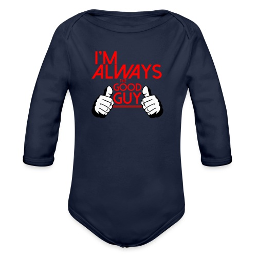 ALWAYS. - Organic Longsleeve Baby Bodysuit