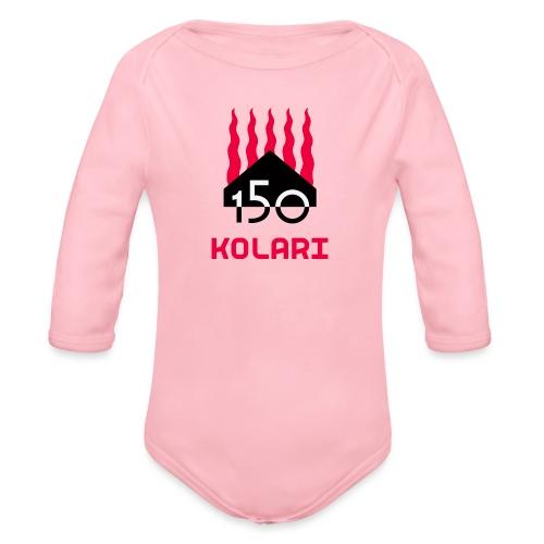 Kolari 150 - Vauvan pitkähihainen luomu-body