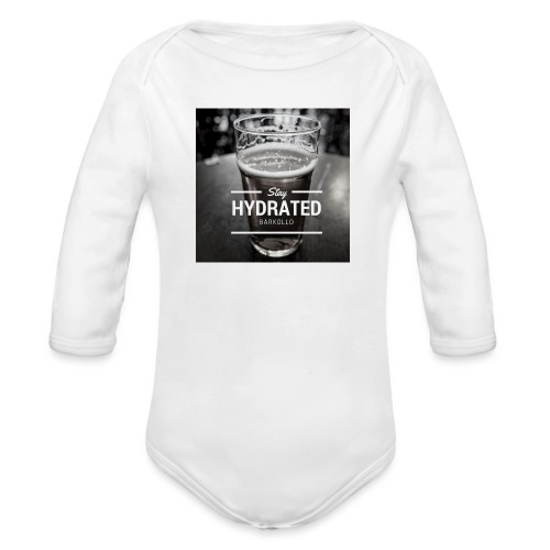 Stay Hydrated beer - Body ecologico per neonato a manica lunga