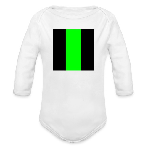 The henrymgreen Stripe - Organic Longsleeve Baby Bodysuit