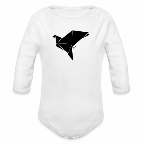 Origami - Body Bébé bio manches longues