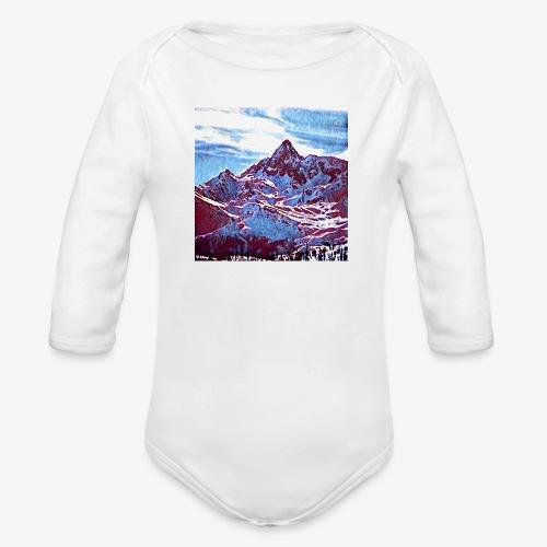 Red Mountain - Body ecologico per neonato a manica lunga