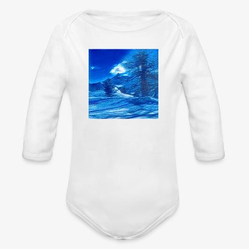 Magia dei Monti della Luna - Body ecologico per neonato a manica lunga