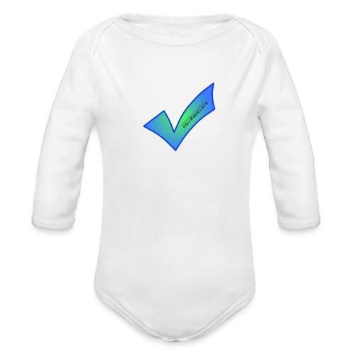Thetwoboys_Designs - Langærmet babybody, økologisk bomuld