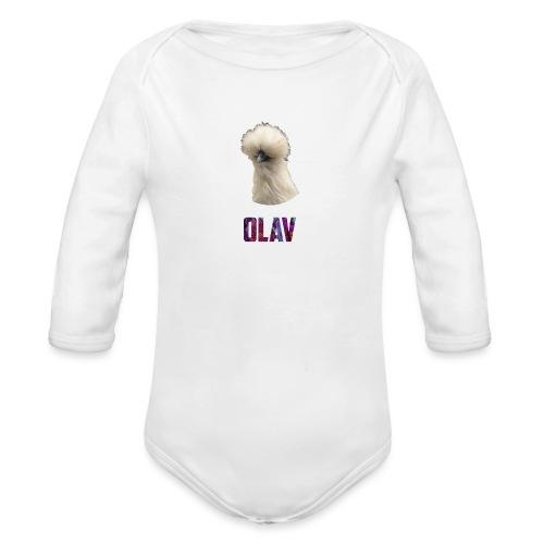 Olav - Økologisk langermet baby-body