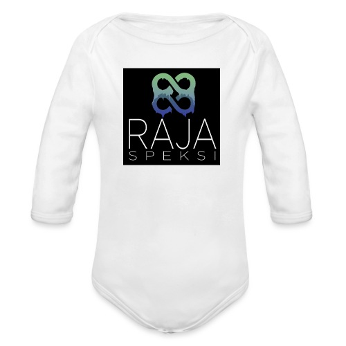 RajaSpeksin logo - Vauvan pitkähihainen luomu-body