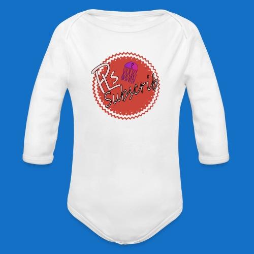 PLsSubscrib - Organic Longsleeve Baby Bodysuit