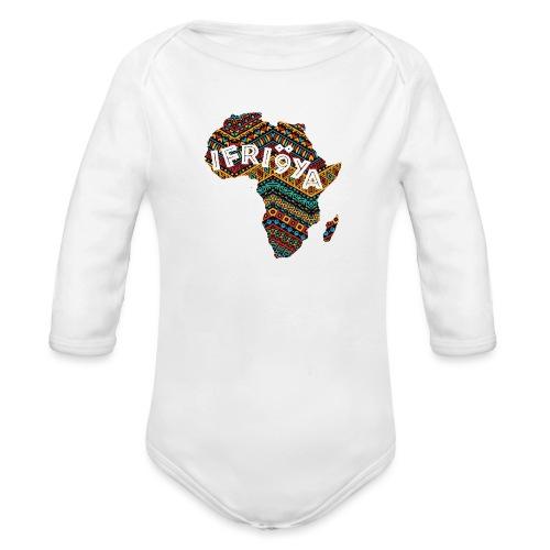 Africa - Ifriqya - Body Bébé bio manches longues