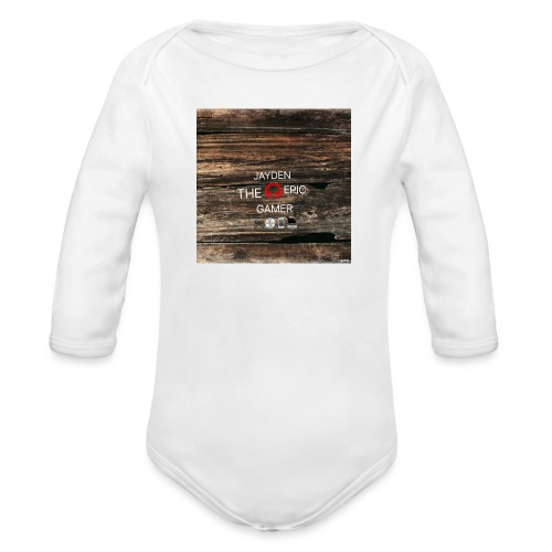 Jays cap - Organic Longsleeve Baby Bodysuit