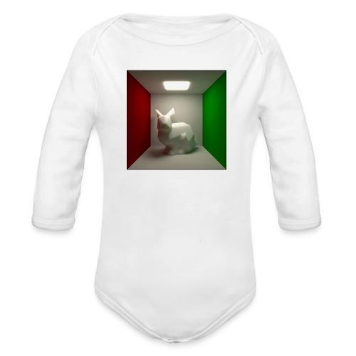 Bunny in a Box - Organic Longsleeve Baby Bodysuit