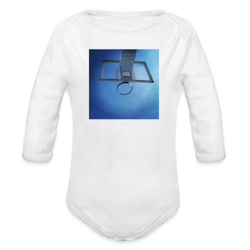 vida basket - Body orgánico de manga larga para bebé