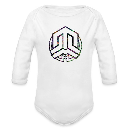 Cookie logo colors - Organic Longsleeve Baby Bodysuit