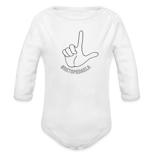 Dedo Big - #RetoPedaEla - Body orgánico de manga larga para bebé