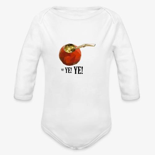 yerba VcrFva - Ekologiczne body niemowlęce z długim rękawem