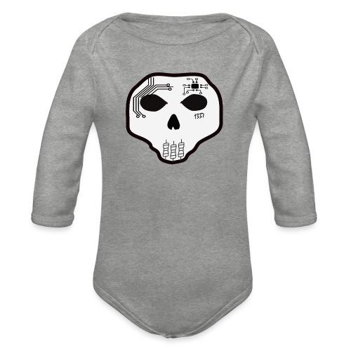 Cyber Skull - Body Bébé bio manches longues