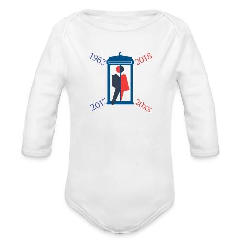 Mr or Ms Who - Organic Longsleeve Baby Bodysuit