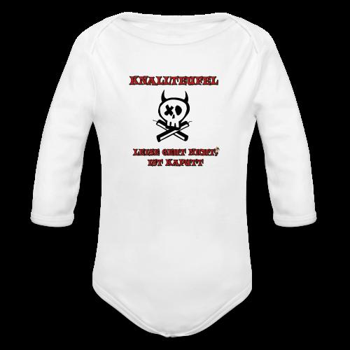 Knallteufel - Baby Bio-Langarm-Body