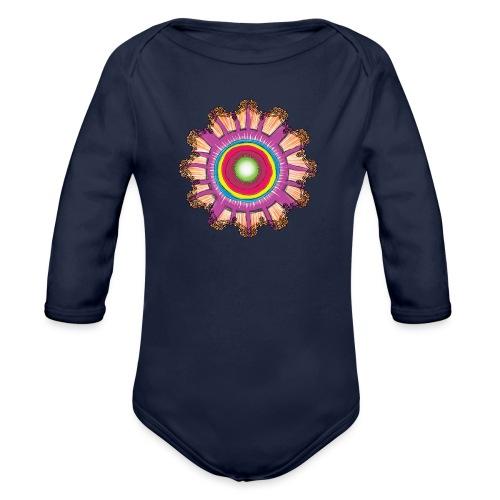 Victorian Sun Energy - Organic Longsleeve Baby Bodysuit