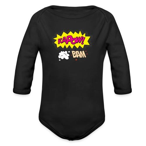 kaboum bam - Body Bébé bio manches longues