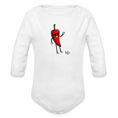 Hot Henrik - Organic Longsleeve Baby Bodysuit